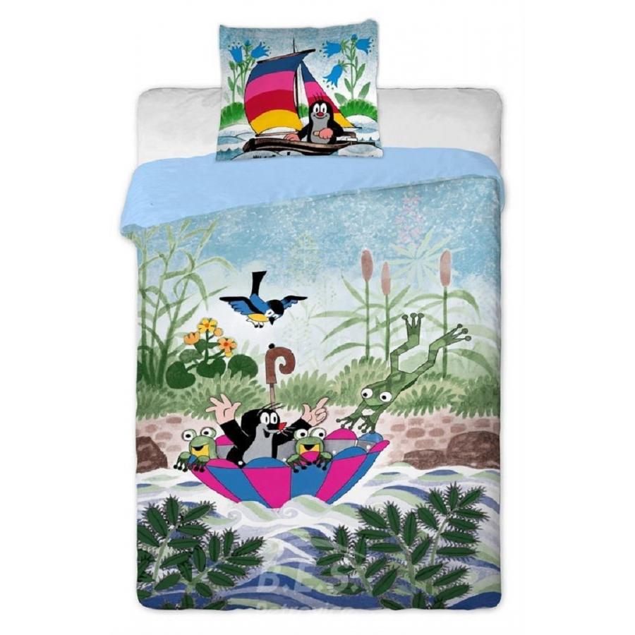 Bettwäsche Großes Bett Motiv Der Kleine Maulwurf Mit Schir