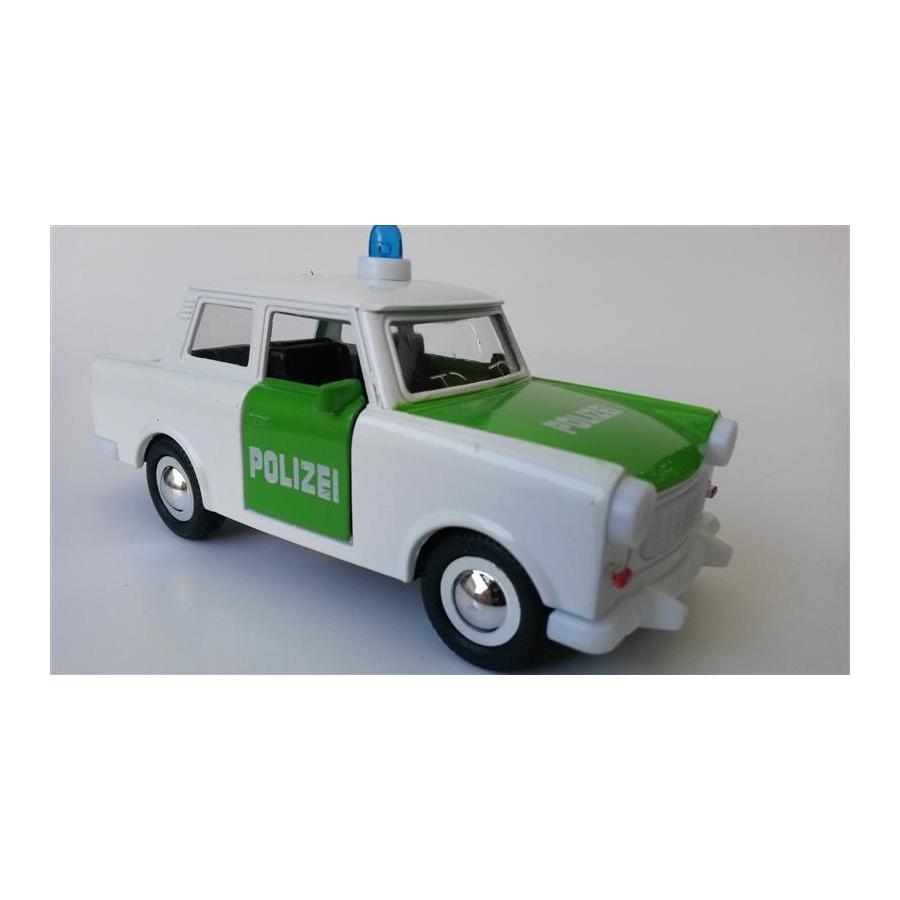 polizei trabant 601 modellauto mit r ckzugsfeder t ren zum. Black Bedroom Furniture Sets. Home Design Ideas
