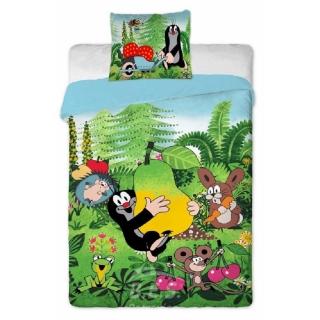 Bettwäsche Großes Bett Motiv Der Kleine Maulwurf Mit Der B