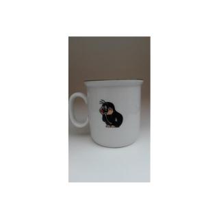 tasse f r kinder mit motiv der kleine maulwurf beim baden f. Black Bedroom Furniture Sets. Home Design Ideas