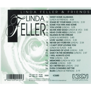 Linda Feller CD - Linda Feller & Friends