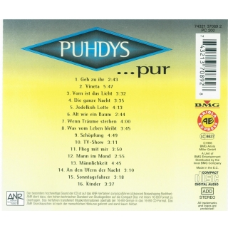Puhdys CD - Pur
