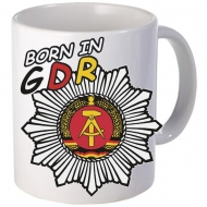 Tasse Born in GDR ( German Demokratic Republic )